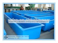 FRP fish tank, GRP food grade breeding tank, fiberglass tank
