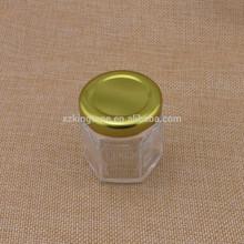 mini glass nut bottles/twist off lid nut glass jars/glass nut jars