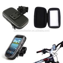 Motorcycle Bike Handlebar Holder Mount + Waterproof Bag Case For Cell Phone