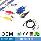 SIPU High quality hot sale s-video vga rca to hdmi converter
