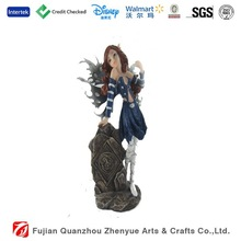 High Quality Polyresin Flying Fairy for Garden Decoration