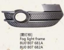 For audi Q3 fog lamp frame/fog lamp cover/led fog light