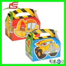 N472 Children Meal Car Box Emergency Service Design Paper Box Lunch Box