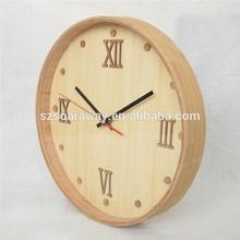 home decor bamboo bell alarm desktop clock, bamboo desktop clock, bell alarm desktop clock
