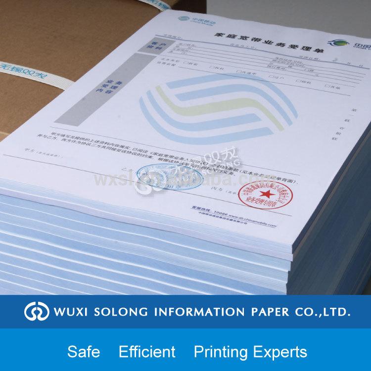 Carbonless Paper Carbonless Duplicate Paper
