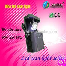 VanGaa LED Stage Light 90 Watt LED Scan Light LED Scanner Light with Strobe Effect in Every Color