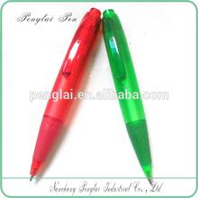 Promotional Cute Small green color Ball Pen Mini Flat Pen