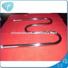 LM-450 wall mounted Russia best seller M style stainless steel beathroom towel rack heater