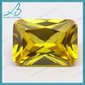中国ゴールドイエローcz名八角形の半貴石のブレスレット用
