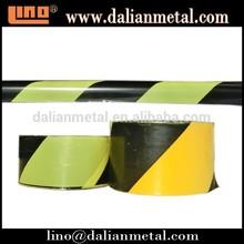 Non Adhesive Black and Yellow Reflective Warning Tape
