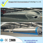 Continuous Waste tires recycling to oil machine used tire machine with CE and SGS