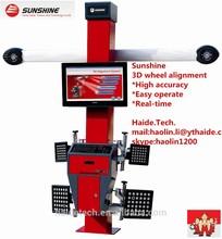 High accuracy 3D Wheel aligner, Alignment,Sunshine, Fahrwerkvermessung,F9,CCD with CE/Tuev Rheinland