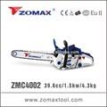 Baratos motosierras 39.6cc 1.5kw zmc4002 mini sierra de inglete con 2 tiempos del motor