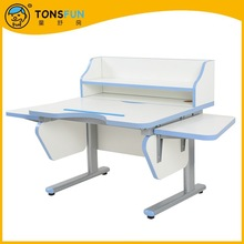 Tonsfun brand Child Kids' study desk chair suit School Home Adjustable Height Reading table stainless steel Prevent myopia mode