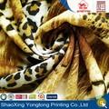 Telas para jersey impresos con estampado de leopardo rayón hechos en China