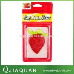 jelly aroma sticker, gel air freshener,Glazy aroma sticker,