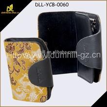 Silk Leather Hot Key Holder With Flower Pattern Manufacturer