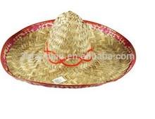 Men sombrero straw hats