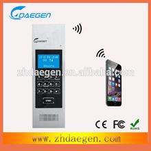 mobile phone long distance unlocking GSM wireless audio door phone