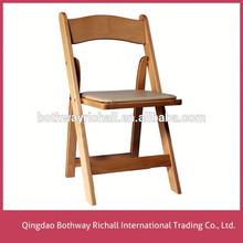 Leisure Outdoor Iron Wood Folding Chair