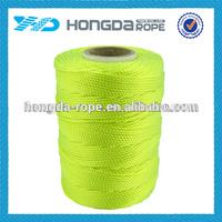 fluorescent nylon braided rope 1.6mm nylon cord
