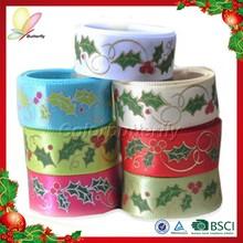 Hot Sale New Products 2015 Printed Ribbon Wholesale Ribbon Ribbon Bow