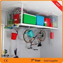 garage bike hanging racks/garage storage ceiling rack/overhead hanging rack