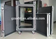 19inch mounted rack shockproof amp case