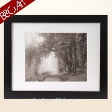 Preto e branco paisagem imagem para pintura em tela
