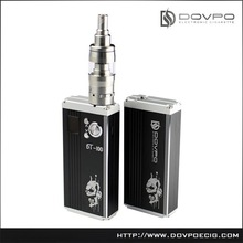 2015 new product of 100W Dovpo DT-100 high power China e cigs vapor kits