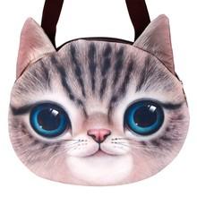 Stylish Lady Women Animal Head Cat Shape Bag SV014807