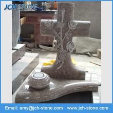Custom made cross pet gravestone