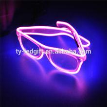 EL Wire Led Sunglasses color EL Wire Sunglasses