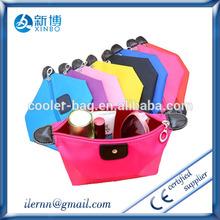 2015 summer latest design beautiful zipper nylon travel pouch