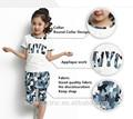 ekonomik ODM çocuklar kız kazak ve pantolon setleri