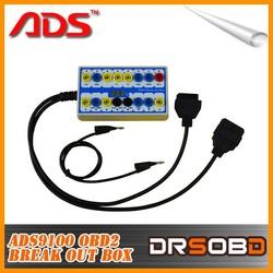 2015 new ADS original ADS9100 OBDII Protocol Detector & Break Out Box