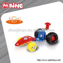 Superior quality diy metal toy set block toys