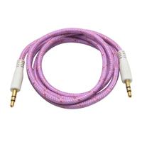 200pcs/LOT shenzhen shielded audio wholesale 3.5mm aux cable for car