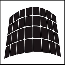 6W Semi Flexible Solar Panel For Home Use