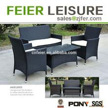 KD 4 pcs rattan furniture lounge