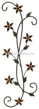 Metal Crafts Wall Art Home Decor Floral Scroll Flower