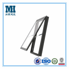 fashionable new style aluminum top hung ventilation glass window
