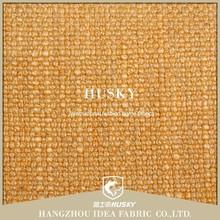 Material de cáñamo de calidad superior de color amarillo de peso pesado sofá de tela de tela