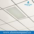 2015 laicos de aluminio en placas de techo decorativo