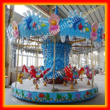 theme park carousel animal kiddie rides