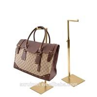 Modern counted adjustable shop promotion hanging bag display stand