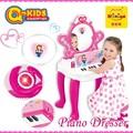 2.015 juguetes de la educación preescolar para juego de niñas con el piano
