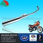 Heat Resistance Wholesale Paint Motorcycle Silencer Exhaust Muffler