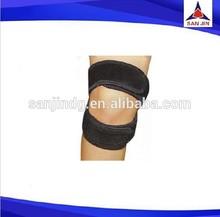 Open patella knee support belt neoprene knee brace with velcro closure knee guard motorcycle riding