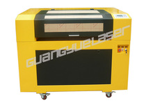 China GY6090 600x900mm 60W80W100W PVC Acrylic Paper Fabric CO2 coconut shell laser cutting and engraving machine